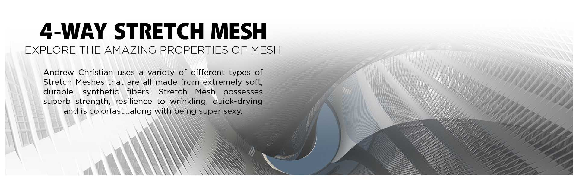 STRETCH MESH FABRIC
