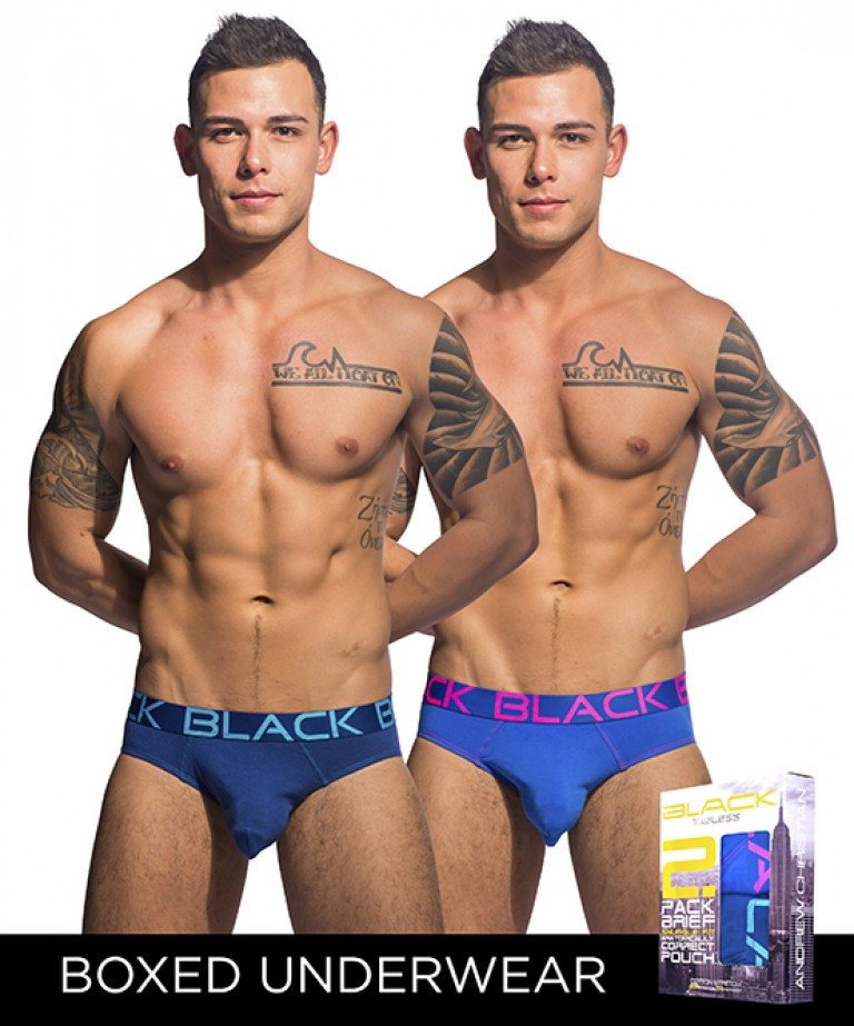 Black Collection Brief 2-Pack