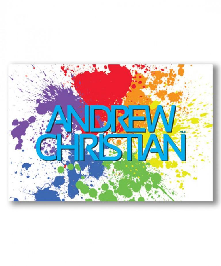 Rainbow Pride Splatter 24x36 Poster