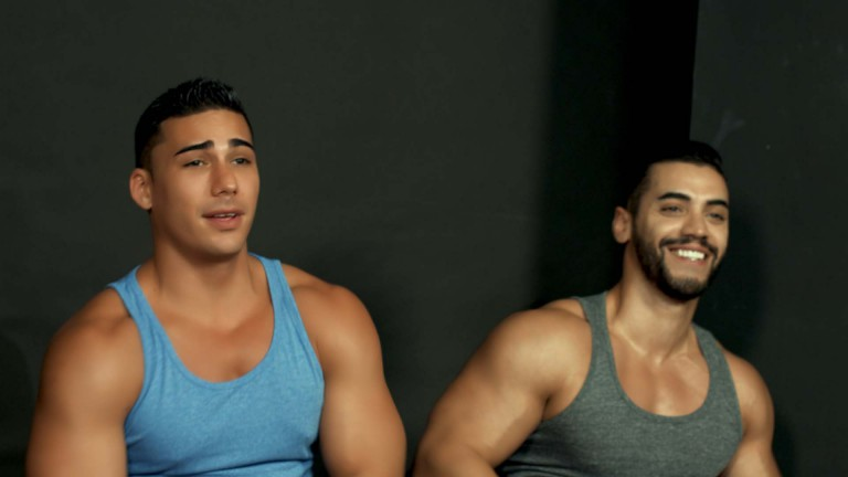 Topher and Arad's Workout Strip Challenge
