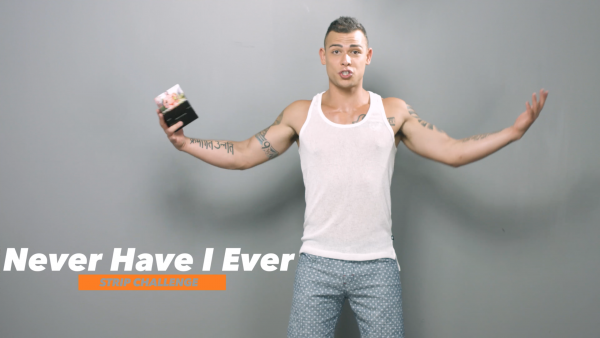 VIDEO: Never Have I Ever Striptease Challenge