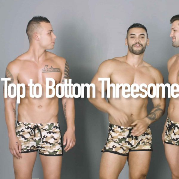 Video: Top to Bottom Threesome Challenge