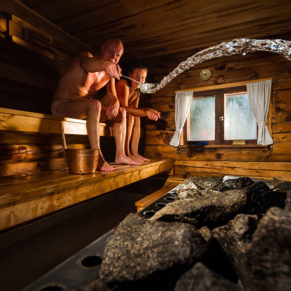 All The Sexy Details on European Saunas