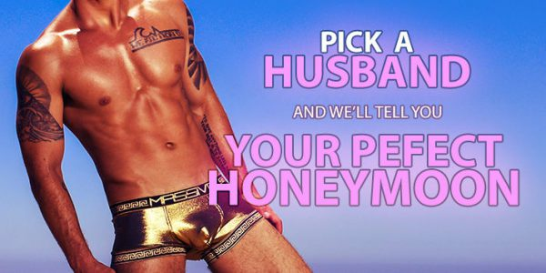 QUIZ: Pick a Husband and We'll Tell You Your Perfect Honeymoon