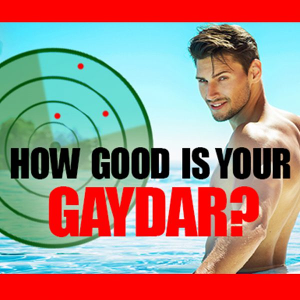 How Good is Your Gaydar?