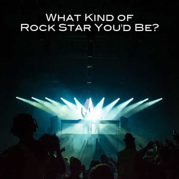 What Kind of Rock Star You'd Be?