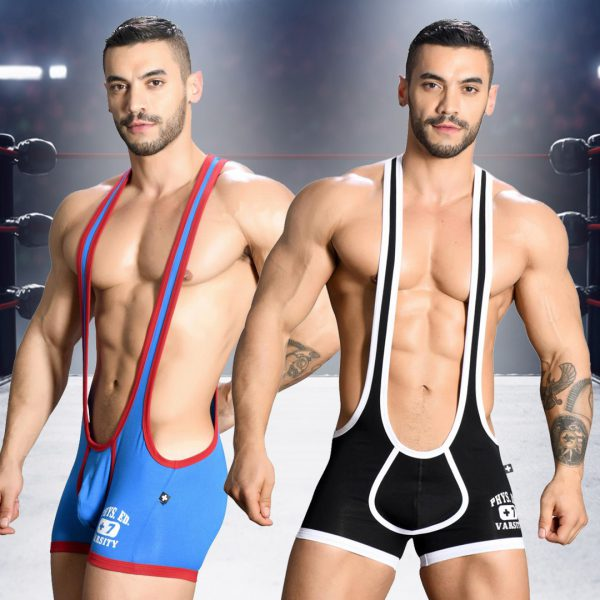 Hot Product: Phys. Ed. Wrestler Singlet w/ Almost Naked