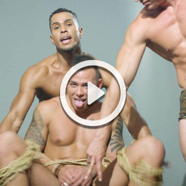 Gay Sex Positions: Bondage Style