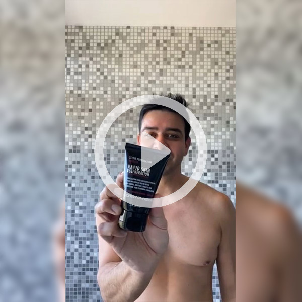 Welcome to My Naked Shower: Rapid Skin Regeneration
