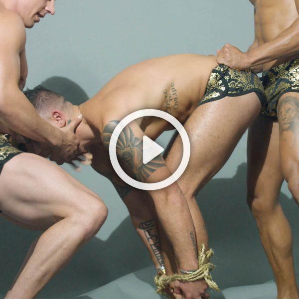 Teaching Gay Sex Positions Bondage Style