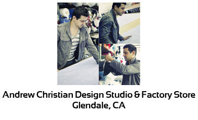 Andrew Christian Design Studio & Factory Store