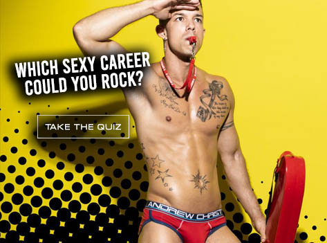 Slide Which Sexy Career Could You Rock?