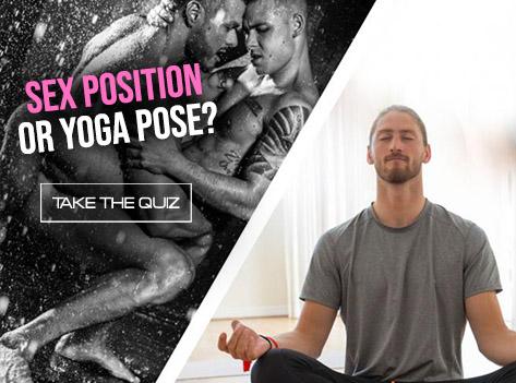 Slide Sex Position or Yoga Pose?