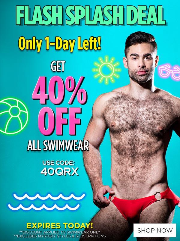 Promo Get 40% OFF Swimwear