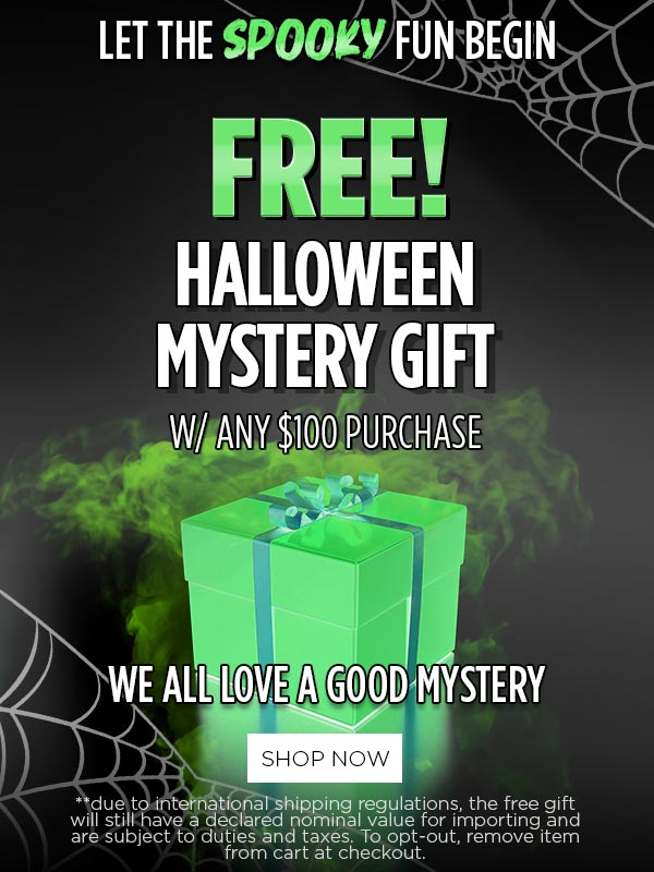 Promo FREE! Mystery Gift w/ $100+ Orders