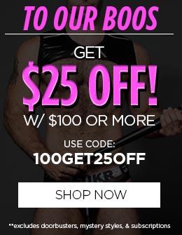 Get $25 OFF! w/ $100+ Orders