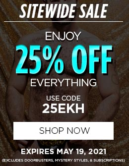 Enjoy 25% OFF Everything