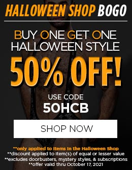 Buy One Get One Halloween Style 50% OFF!