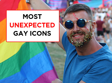 Slide Most Unexpected Gay Icons