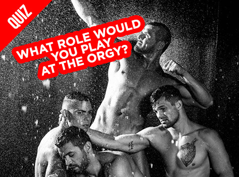 Slide What Role Would You Play at the Orgy?