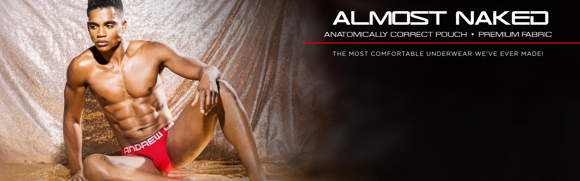 ALMOST NAKED - Anatomical Pouch