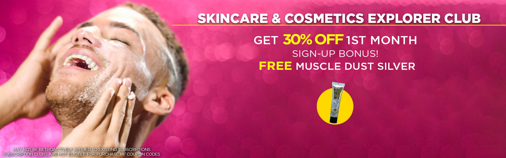 Skincare & Cosmetics Explorer Club