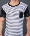 League Pocket Stripe Tee Thumbnail 6