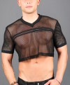 Club Mesh Football Crop Tee Thumbnail 6