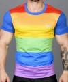 Ultra Pride Laurel Mesh Tee Thumbnail 6