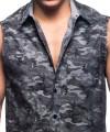 City Camo Sleeveless Shirt Thumbnail 6