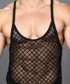Lattice Lace Sheer String Tank Top Thumbnail 6