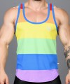 Ultra Pride Laurel Mesh Tank Top Thumbnail 6