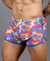 Vivid Camo Mesh Glow Shorts Thumbnail 8