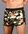 Commando Mesh Gold Laurel Swim Shorts Thumbnail 6