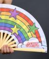 "Large 25"" Pride Clack Fan Thumbnail 4"