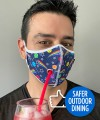 Safer Outdoor Dining Lollipop Mask Thumbnail 2