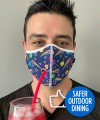Safer Outdoor Dining Lollipop Mask Thumbnail 3