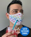 Safer Outdoor Dining Pride Love Mask Thumbnail 1