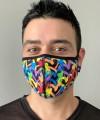 Graffiti Heart Glam Mask Thumbnail 1