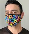 Graffiti Heart Glam Mask Thumbnail 2
