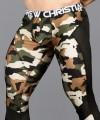 Camouflage Mesh Legging w/ Almost Naked Thumbnail 6
