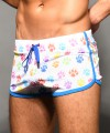 Rainbow Growl Mesh Jogger Shorts Thumbnail 6