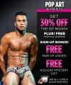 Pop Art & Prints Curated Underwear Club with FREE SHIPPING Thumbnail 1