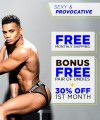 Sexy & Provocative Curated Underwear Club with FREE SHIPPING Thumbnail 2