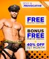 Sexy & Provocative Curated Underwear Club with FREE SHIPPING Thumbnail 1