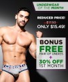 Underwear Of The Month Club Subscription Thumbnail 1