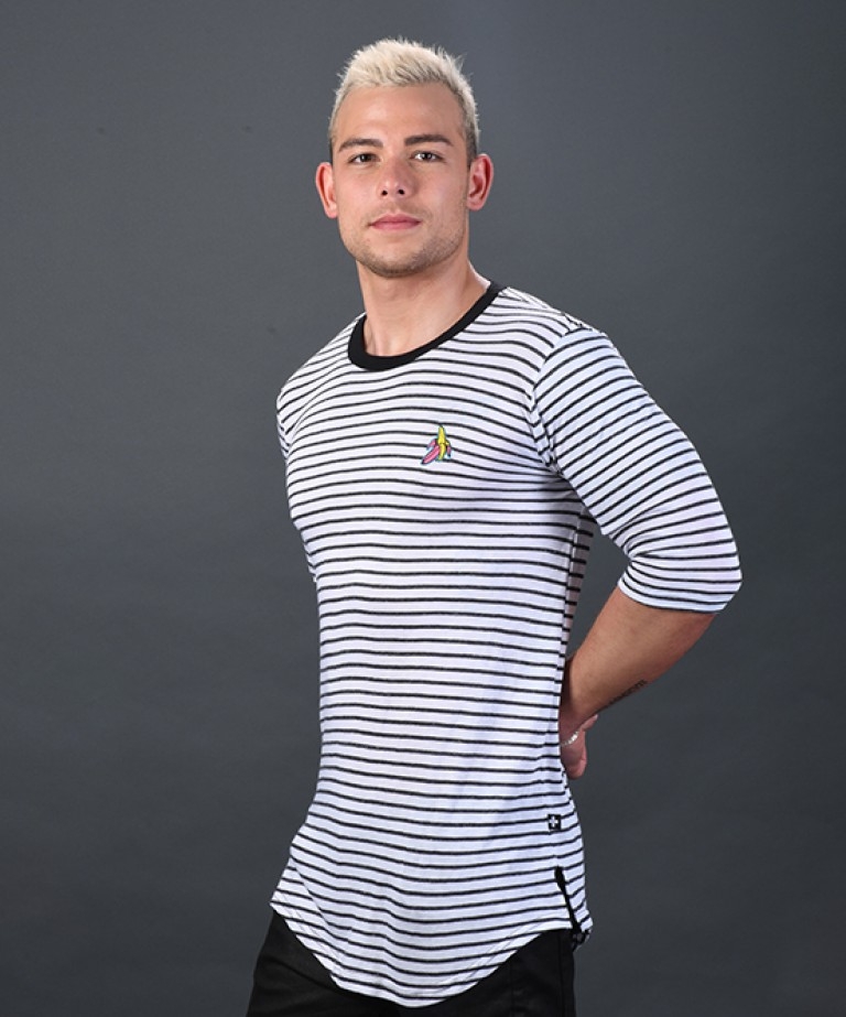 Banana City Stripe Tee
