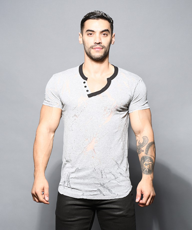 Blast Burnout V-Neck Tee
