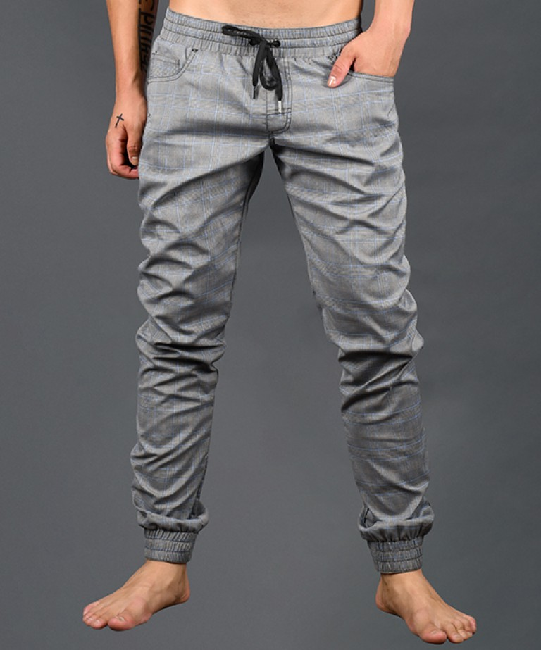 Highland Plaid Jogger Pants
