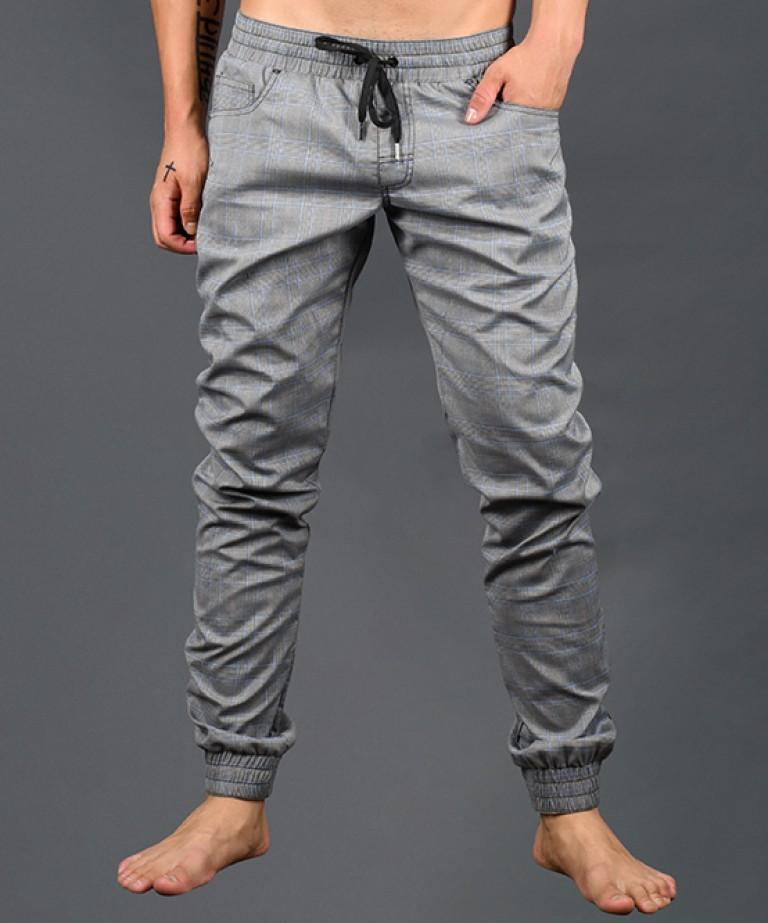 Highland Plaid Jogger Pants